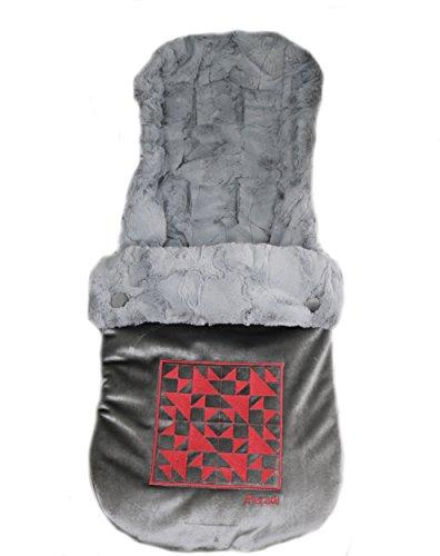Peradi Baby Stroller Bunting Bags, Geo GreyPink by Peradi