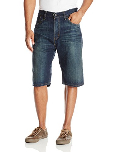 Levi's Men's 569 Loose Straight Short, Springstein Short, 44 - Levis Long Shirt