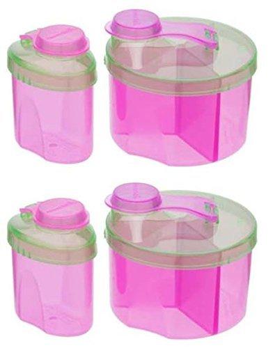 Munchkin Powdered Formula Dispenser Combo Pack, Colors May Vary - 2 Sets