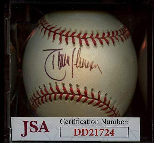 Autographed Randy Johnson Ball - Single OAL Budig JSA Cert - Autographed - Ball Oal Baseball