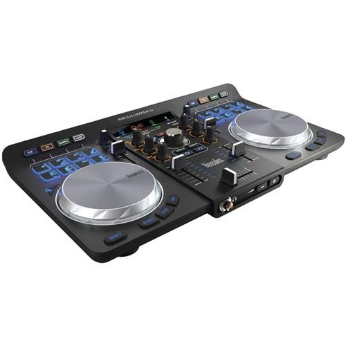 - Hercules Universal DJ | Bluetooth + USB DJ controller with wireless tablet and smartphone integration w/ full DJ Software DJUCED included