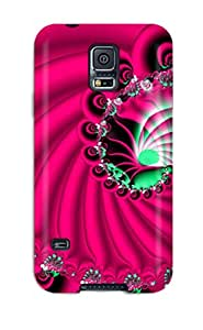 High Quality Shock Absorbing Case For Galaxy S5 Fractal