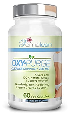 Oxy-Purge 60 Vcaps - Natural Magnesium Oxide | Gentle Laxative | Healthy Digestive Tract | Regularity Formula | Oxygen Based Colon Cleanse