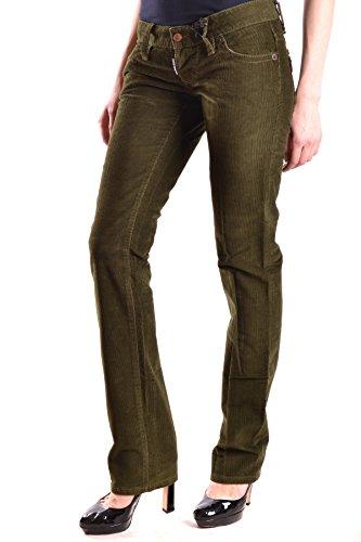 Mcbi107040o Jeans Donna Verde Cotone Dsquared2 8ERdwnqR