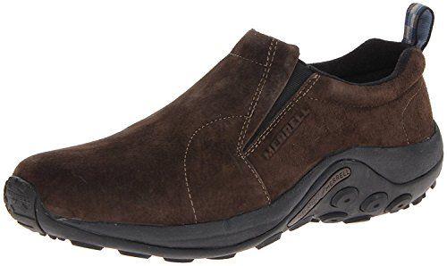 Merrell Mens Jungle Moc Slip-On Shoe, Fudge, 42 D(M) EU/8 D(M) UK