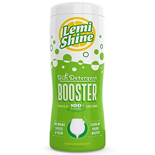 Off Retail Free Ship (Lemi Shine 12 Oz Dishwasher Detergent Booster Removes the Toughest Hard Water Stains on Dishes & Glassware Safe, Natural, Powerfully Effective)