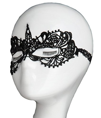 Black Eye Mask Halloween - 8