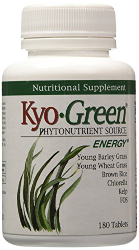 Chlorella 180 Tablets (Kyolic Kyo-Green Energy Nutritional Supplement (180-Tablets))
