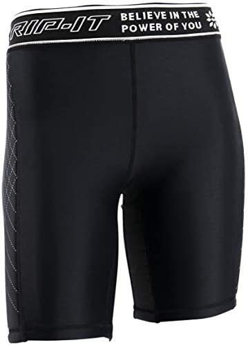 Women/'s Worth Sport baseball// softball sliding compression shorts X-Large Black