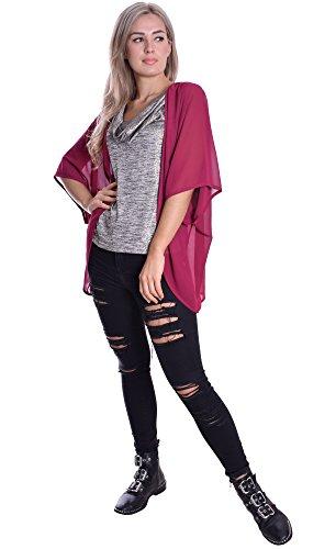 MQC - Camicia -  donna Rosso Oxblut Large