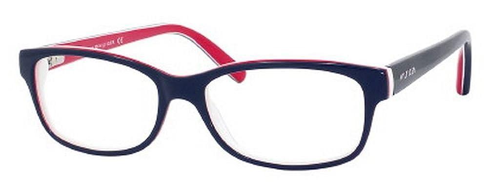 48d0f034dd9 Tommy Hilfiger 1018 Blue   Red Frame Plastic Eyeglasses
