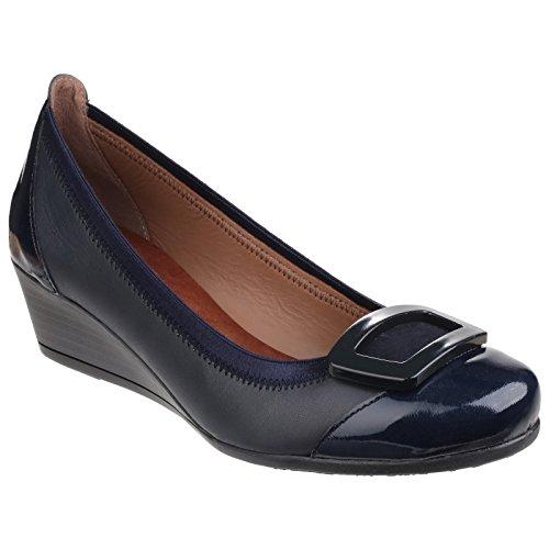 Riva - Sandalias de vestir para mujer azul marino