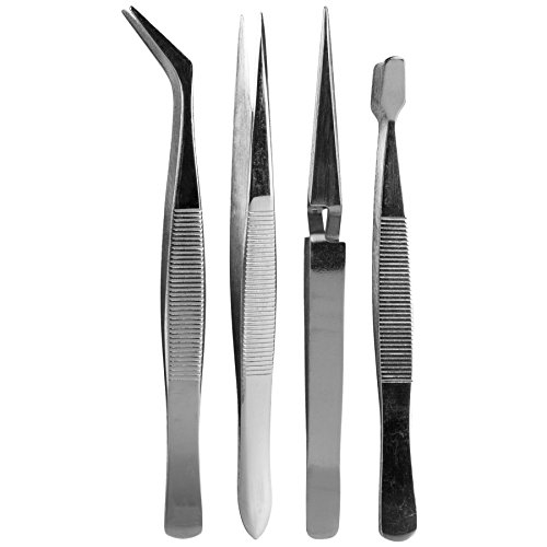 SE 4-Piece Hobby Tweezers Set - Hobby Real