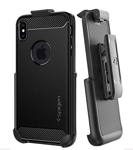 Encased Belt Clip Holster for Spigen Rugged Armor Case - iPhone Xs Max (case not Included)