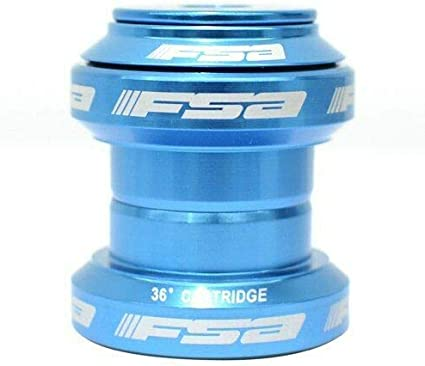 "FSA Orbit MX Headset 34mm Threadless 1-1//8/"" W// Top Cap 6 Colors Option"