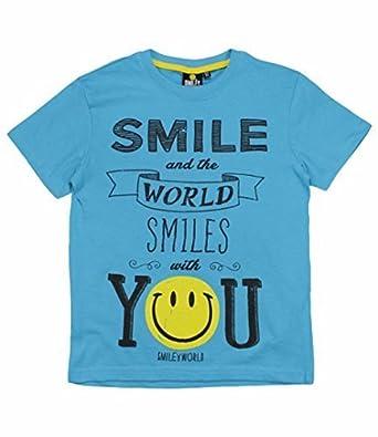 67f9cb775f22c t shirt smiley enfant - www.condoaronica.com