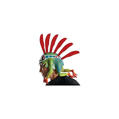 Rubie's Costume Co Men's World Of Warcraft Murloc Headpiece, Multi, One Size