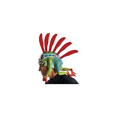 Rubie's Costume Co Men's World Of Warcraft Murloc Headpiece, Multi, One Size -