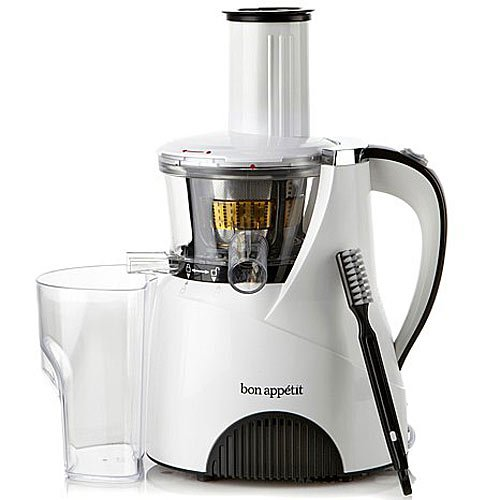 Slow Juicer Watt : Galleon - Bon Appetit Heavy Duty Slow Juicer BAJE0020 150-Watt, White