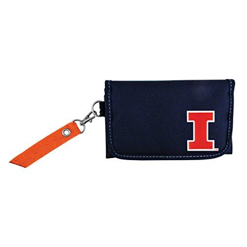 (NCAA Illinois Fighting Illini Ribbon Organizer Wallet)