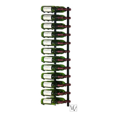 36WS4 Series 36 Bottle Wall Mounted Wine Rack Finish: Black by Vintage View