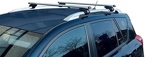 5 Door from 13 VDPLION1 Roof Rack Bars Compatible with Dacia Sandero Stepway