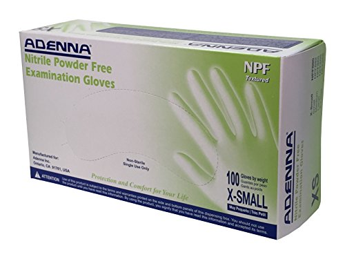 Adenna Nitrile Powder Gloves X Small