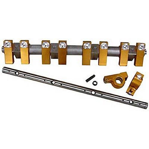 Harland Sharp S4006BKE 1.76 Ratio Rocker Arm Shaft Mount Set for Ford Rocker Shaft Set