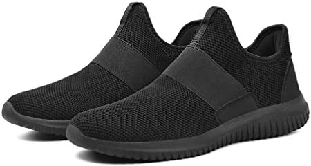 Troadlop Mens Sneakers Slip on Shoes Men Laceless Sport Shoes for Men Knit Breathable Running Walking Athletic Shoes 14