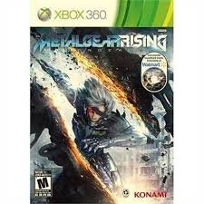 Metal Video Game (Metal Gear Rising: Revengeance Video Game With Walmart Exclusive Instrumental Soundtrack (Xbox 360))