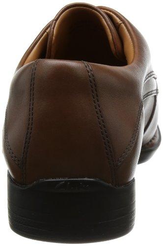 Clarks Habillé Homme Chaussures Francis Air En Cuir Noir