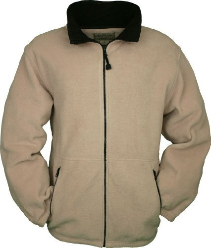 Colorado Timberline Men's Telluride Fleece Jacket-M (Khaki) by Colorado Timberline