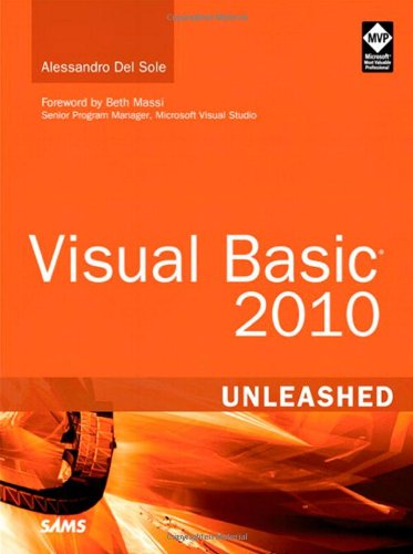 [PDF] Visual Basic 2010 Unleashed Free Download | Publisher : Sams | Category : Computers & Internet | ISBN 10 : 0672331004 | ISBN 13 : 9780672331008
