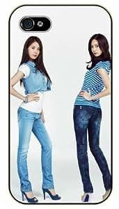 Surelock iPhone 5 / 5s Asian school girls - black plastic case, hot girl, girls