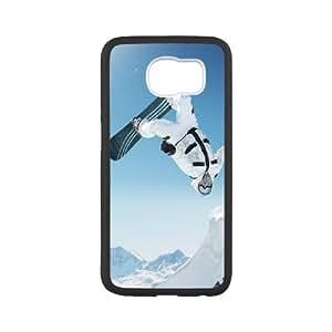 Snowboarding Samsung Galaxy S6 Cell Phone Case Black Present pp001-9517946