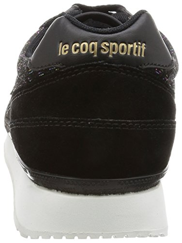 Sportif Baskets Le W Coq Basses Noir Femme black Rainbow Eclat XXq54a