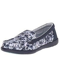 crocs Women's Walu II Leopard Print Loafer