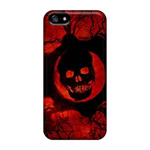 Iphone 5/5s Case Cover Skin : Premium High Quality Gears Of War 3 Game Official Case