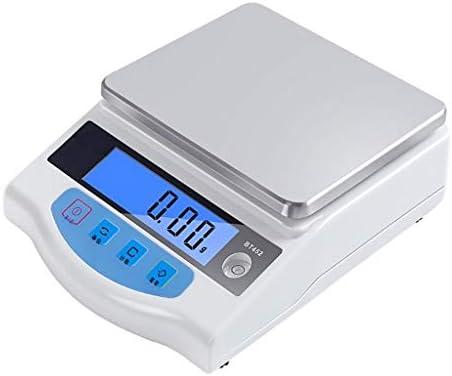 WCX Hochpräzise analytische elektronische Waage Schmuckwaage Labordigitalwaage Küchenpräzisionswaage 0,01 g Kalibriert...
