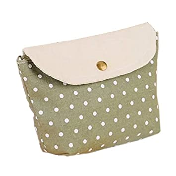 dddc6f341599 Amazon.com   Brendacosmetic Multifunction Lovely Polka Dot Makeup bag Coin  purse