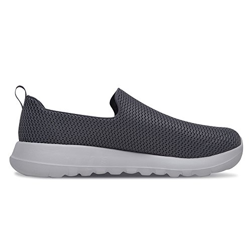 Skechers Mens Go Walk Max Mesh Trainers Charcoal