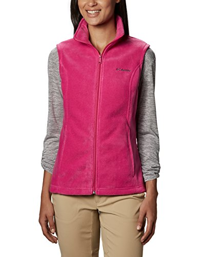 Columbia Women's Benton Springs Vest, Fuchsia Large