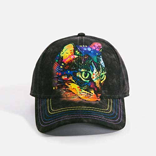 - The Mountain Unisex-Adult's Mysterio Gaze Baseball Cap, Black, Adjustable