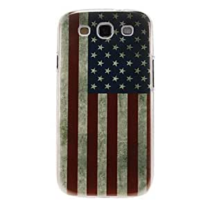 PEACH-USA Flag Pattern Plastic Protective Hard Back Case Covers for samsung Galaxy S3 I9300
