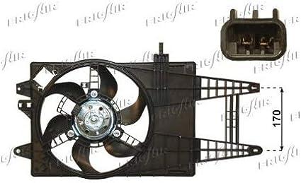frigair 0504.1213 Ventilador, refrigeración del motor Motor ...