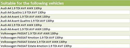Dual Mass Conversion Flywheel 5pc Clutch Kit Suits A4 1.9 TDI AVF//AWX 130hp