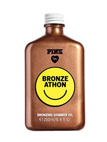 Victoria's Secret PINK Bronze Athon Bronzing Shimmer Oil 8.4 fl.oz (Tanner Secret Victoria)