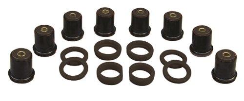Prothane 7-225-BL Black Rear Control Arm Bushing Kit with Shells