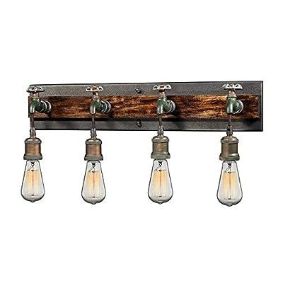 Elk Lighting 14283/4 Vanity fixtures, Rust