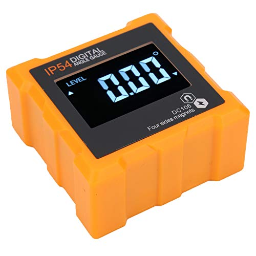 디지털 각도 측정 비스듬한 상자 각 구경측정 미터 에 대한 각도 측정 경사 측정 업계 측정 도구